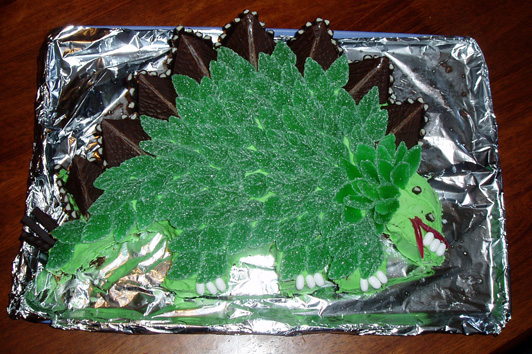 A Stegosaurus For Andrews 31st Birthday
